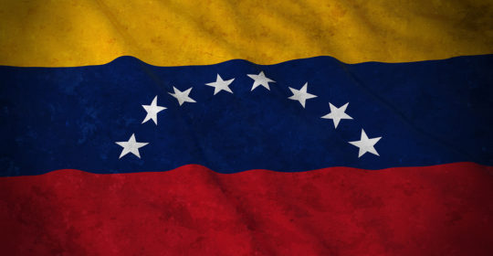 Grunge Flag of Venezuela - Dirty Venezuelan Flag 3D Illustration