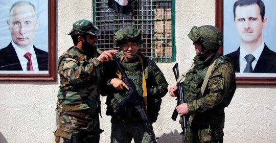 Сирия: акции падают вниз?