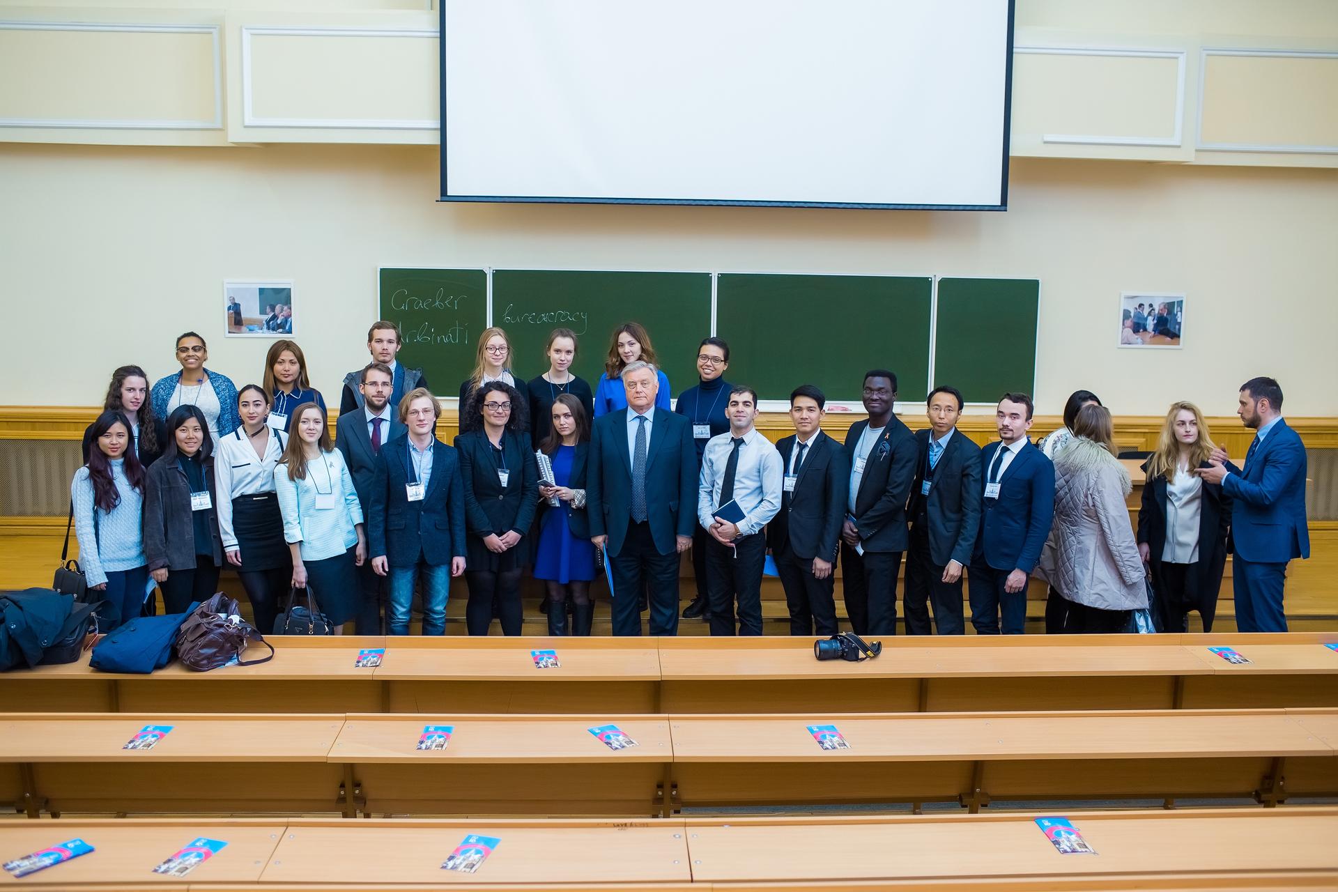 24 апреля в МГУ состоялась церемония открытия Международной весенней школы по политологии PolitIQ
