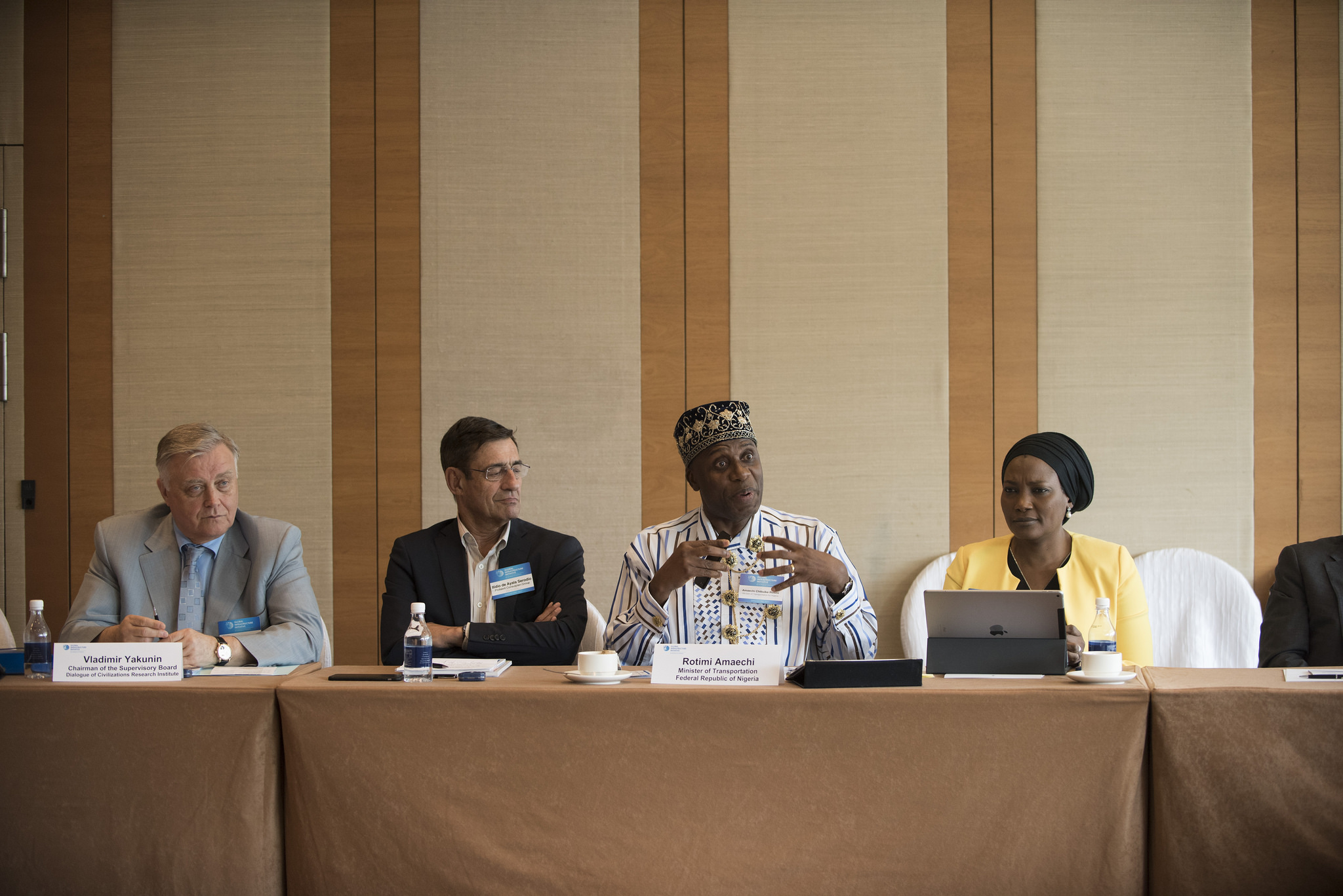 Dr Yakunin attends McKinsey Global Infrastructure Initiative Summit